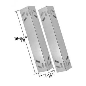 2 Pack Replacement Stainless Steel Heat Shield for Kenmore 119.16434010, 119.16658010, 119.16658011, 119.16670010, 119.16676800, 119.17676800, B10SR8-A1 Gas Grill Models
