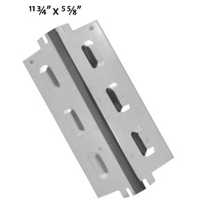 Replacement Universal Stainless Steel Heat Plate for Charbroil, Kenmore, Thermos and Uberhaus Gas Grill Models
