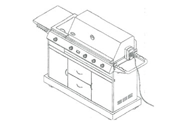 Kirkland Gas Grill Model 720-0011-LP