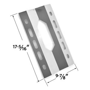 Replacement Stainless Steel Heat Shield for Harris Teeter 210001 and Members Mark 720-0586A Gas Grill Models