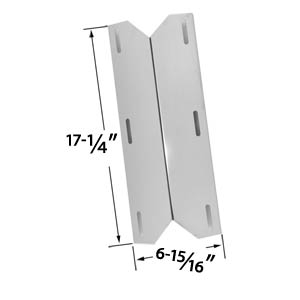 Replacement Stainless Steel Heat Shield for Charmglow 720-0230, Costco Kirkland, Nexgrill & Sterling Forge Gas Grill Models