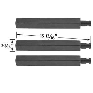 3 Pack Replacement Cast Iron Grill Burner for Charbroil, Glen Canyon, Jenn-Air, Nexgrill, Virco 720-0032 and Thermos 461252705 Gas Grill Models