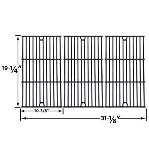 3 Pack Replacement Gloss Cast Iron Cooking Grid for Charmglow 720-0234, 720-0289, 720-0396, 720-0536, 720-0578, 810-850-F, 810-8500-S and Jenn-Air 720-0337, 720-0512 Gas Grill Models