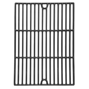 2 Pack Replacement Gloss Cast Iron Cooking Grids for Patio Chef SS48, SS54, SS64, SS64LP, SS64NG and Brinkmann 2500, 2500 pro series, 2600, 2700, 2720, 4425, 4445 Gas Grill Models