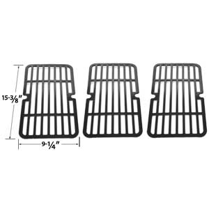 3 Pack Replacement Porcelain Steel Cooking Grid for Brinkmann 810-9410-F, 810-9410-M, 810-9000-F, 810-9210-F, 810-9210-M, 810-9210-S Gas Grill Models