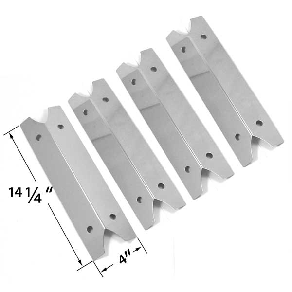 Plate Part Gas Outdoor Gourmet Grill 4 Pack Replacement Heat Shield