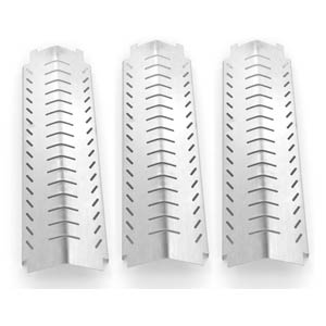 3 Pack Replacement Stainless Steel Heat Shield for Charbroil 463240804, 463241804, 463247004, 463243904, Kirkland 463230703 & Front Avenue Gas Grill Models