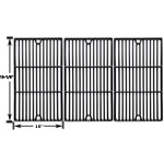 3 Pack Replacement Porcelain Cast Iron Cooking Grids for Charbroil 466247512, 463247209, 463247310, 463248208, 463263110, 463268107, 463224912, 463231711, 463247209 Gas Grill Models