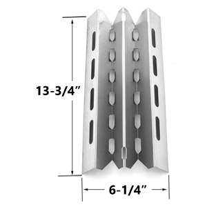 Replacement Stainless Steel Heat Plate for Broil King, Broil-Mate, Huntington and Sterling Gas Grill Models