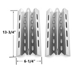 2 Pack Replacement Stainless Steel Heat Plate for Broil King, Broil-Mate, Huntington and Sterling Gas Grill Models