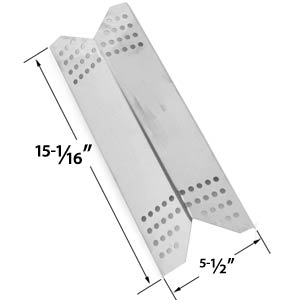 Replacement Stainless Steel Heat Plate for Kenmore Sears, Nexgrill 720-0670B & Grill Master 720-0670E Gas Grill Models