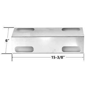 Replacement Stainless Steel Heat Plate for Ducane Affinity 3100, 3200, Affinity 3200, 3300, Affinity 3300 Gas Grill Models