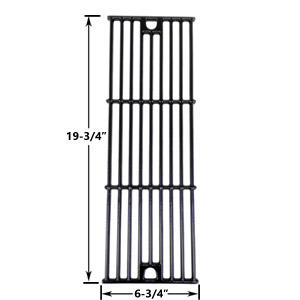 Replacement Gloss Cast Iron Cooking Grid for Char-Griller 2121, 2123, 2222, 2828, 3001, 3030, 3725, 4000, 5050, 5252, 3008 Gas Grill Models