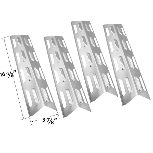4pack Heat Plate Replacement Gas Grill Model Master Forge Original Parts Compare