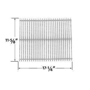 Replacement Stainless Steel Cooking Grid for Charbroil GG6621C, GG6625C, GG6628C, GG6630, GG691-C, GG694-C, GG694CTC, GG697-C, GG733, GG808, GG831 Gas Grill Models