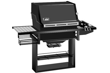 Weber Genesis 1500 LX NG PM 311571 Gas Grill Model