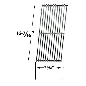 Replacement Stainless Steel Cooking Grid for Chargriller 2001, 2020 and Vermont Castings CF9050, CF9086, Experience, Extreme Built-in Gas Grill Models