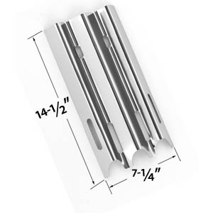 Replacement Stainless Steel Heat Shield for Vermont Castings, Jenn-Air & Great Outdoors Gas Grill Models