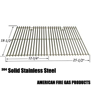2 Pack Replacement Stainless Steel Cooking Grid for DCS 27 Series, 27ABQ, 27ABQR, 27BQ, 27BRQ and Members Mark B09PG2-4B Gas Grill Models
