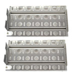 Replacement 2 Pack Stainless Steel Briquette Tray/Heat Shield for Lynx L27, 36, 48, L27, L30, L30PSP, L36, L42, L54, L5430, L54PS, LBQ27, LBQ36, LBQ48, LCB1, LCB2, LDR18, LDR21, LDR27, LDR30 Gas Grill Models