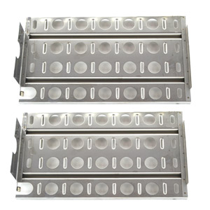 2 Pack Replacement Stainless Steel Briquette Tray/Heat Shield for Lynx L27, 36, 48, L27, L30, L30PSP, L36, L42, L54, L5430, L54PS, LBQ27, LBQ36, LBQ48, LCB1, LCB2, LDR18, LDR21, LDR27, LDR30 Gas Grill Models