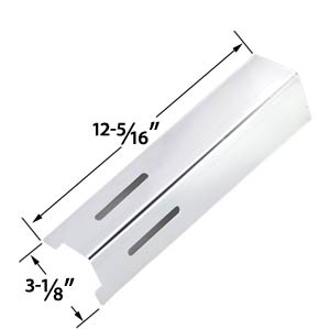 Replacement Stainless Steel Heat Plate for BBQ Grillware GSF2616, 41590, Life@Home GSF2616J, GSF2616JB, GSF2616JBN, GSF2616JC & Uniflame NSG4303, NSG3902B, Patriot Gas Grill Models