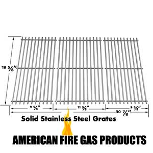 3 Pack Replacement Stainless Steel Cooking Grid for Kenmore 119.16658010, 119.16658011, Master Forge B10LG25 and Masterbuilt 10041006 Gas Grill Models