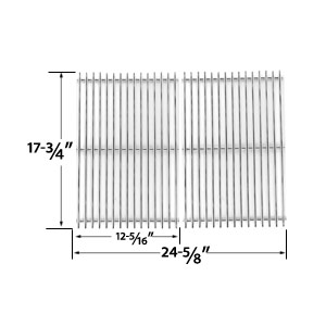 2 Pack Replacement Stainless Steel Cooking Grid for DCS PC-2600, PC-26001, PC-2600L, PC-2600N, PCA-2600L, PCA-2600N Gas Grill Models