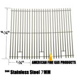 3 Pack Replacement Heavy Duty Stainless Steel Cooking Grates for Members Mark 720-0584A and Perfect Flame 720-0335, 730-0335 Gas Grill Models