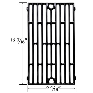 Replacement Porcelain Cast Iron Cooking Grids for BBQTEK GSF3016A, GSF3016E, GSF3016H, GSF3016HN and Jenn Air JA460, JA461, JA461P, JA480, JA580 Gas Grill Models