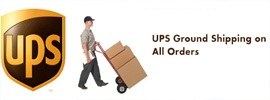$ 9.99 UPS Ground Shipping for All Orders for bbq Grill parts