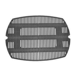 Replacement Cast Iron Cooking Grate for Weber 7584, Q 300 Series Gas Grill Models, Set of 2
